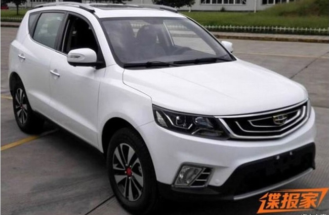 geely krossover emgrand x7